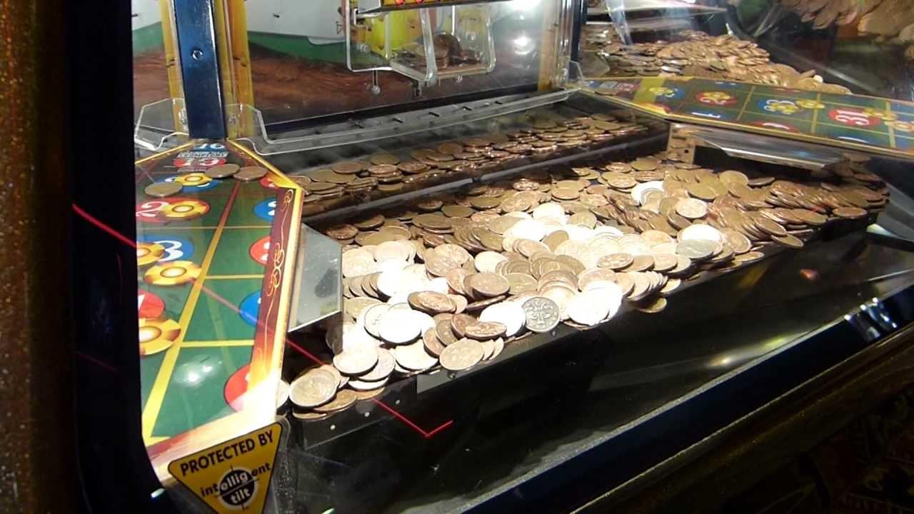 penny machine at casino