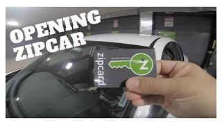 Opening ZipCar - How To Open ZipCar Using ZipCard