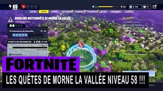 FORTNITE - SAUVER THE WORLD - THE QUESTS OF THE VALLEY LIVE 58 !!!