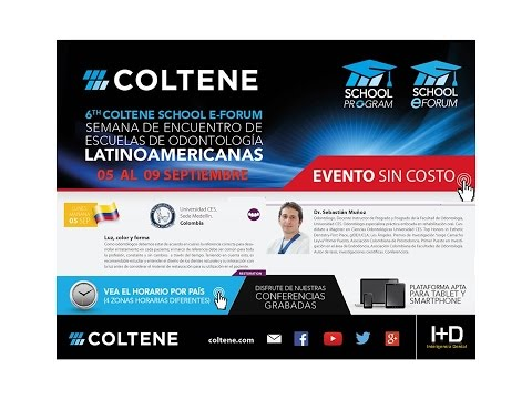 438 6th Coltene School E-Forum - Colombia - Luz, color y forma