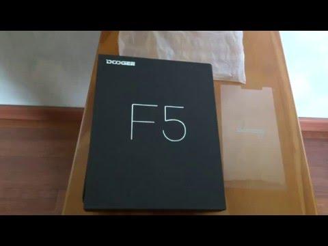 Déballage Smartphone Doogee F5