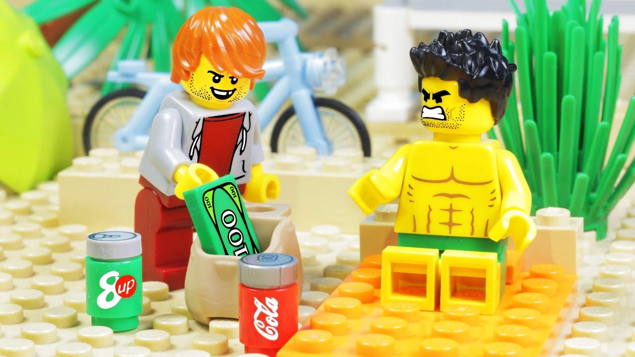 Lego City Beach Robbery Fail