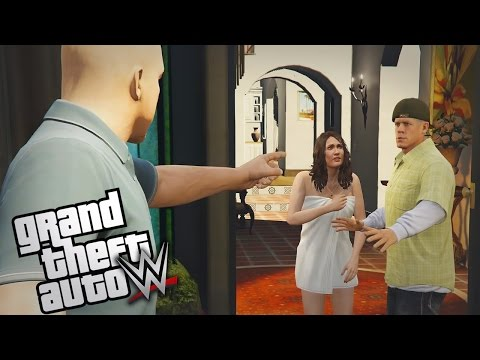 "GTA 5 WWE Mods - Ep 5 - ""STONE COLD'S CHEATING WIFE!!"" (GTA 5 Mods Lets Play #5)"