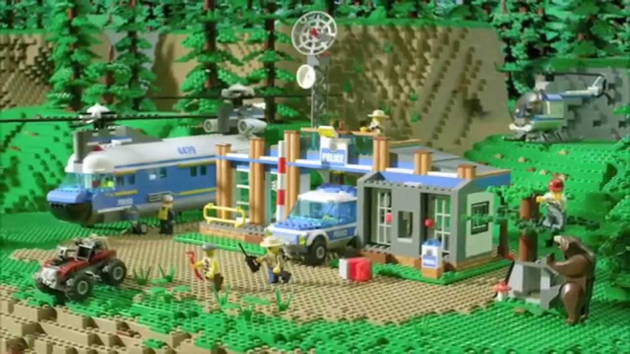 Leśny Posterunek Policji 4440 Lego City Pl Youtube