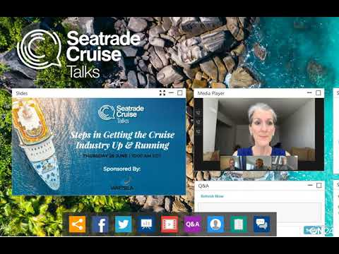 Webinar: Steps In Getting The Cruise Industry Up And Running