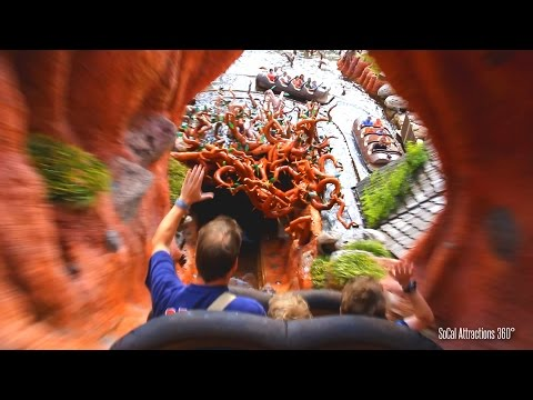 Magic Kingdom Splash Mountain Ride-through - Walt Disney World