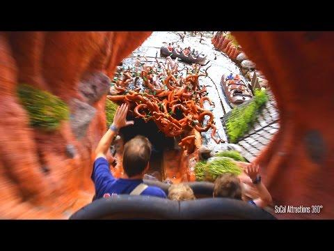 Magic Kingdom Splash Mountain Ride-through - Walt Disney World