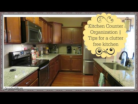 What's on my Kitchen Counters   Tips for a Clutter Free Kitchen