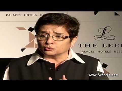 Kiran Bedi at L'Oreal Paris Femina Women Awards