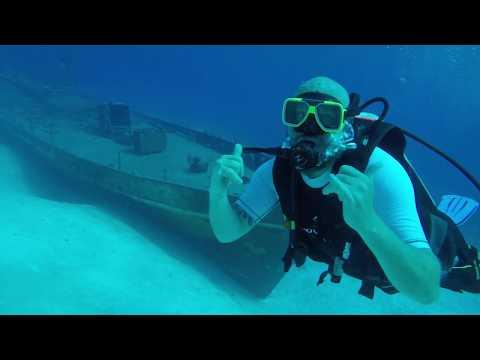 Stuarts cove diving Bahamas GoPro hero 5