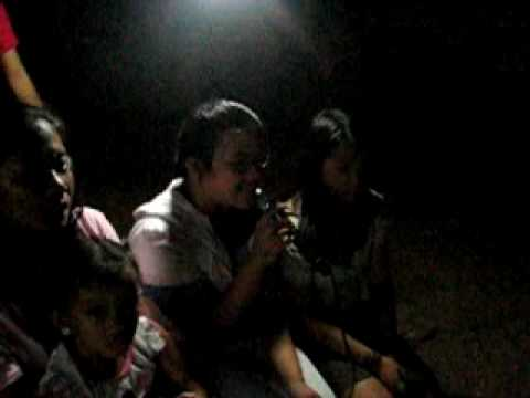 "KEZIA  KARAOKE SINGING ""KABA"" IN VISIT TO LUPAO"