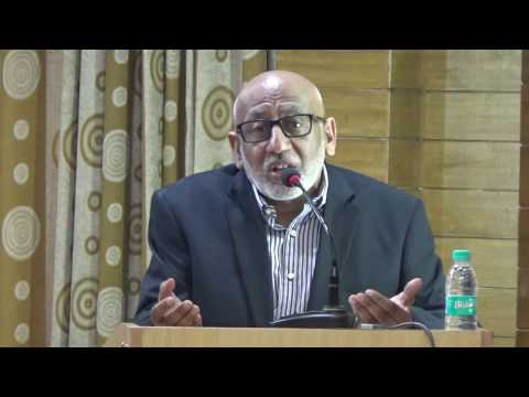 K A Nizami Memorial Lecture by Dr. Abdul Kader Choughley (SOUTH AFRICA)