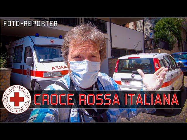 Corona Virus: un giorno da fotoreporter con la CROCE ROSSA ITALIANA di Francavilla al Mare