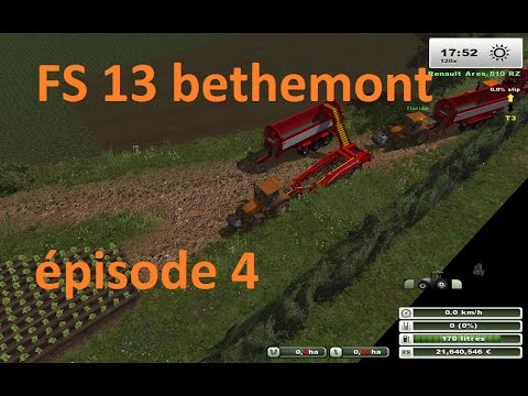 FS 13 bethemont la foret multi épisode 4 - YouTube