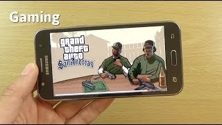 Samsung Galaxy J5 Gaming Review - GTA San Andreas!