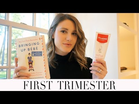 FIRST TRIMESTER RECAP! SYMPTOMS, ESSENTIAL PRODUCTS, HOW I FOUND OUT AND MORE!