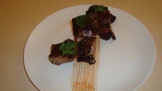 Ребра свинні в духовці/Свиные ребра в духовке/Pork Ribs Recipe