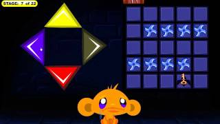 Monkey GO Happy: Bats -- Stage 7 Walkthrough