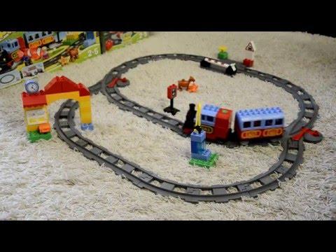 Lego Duplo 10506 (Дополнительные элементы для железной дороги) Track System