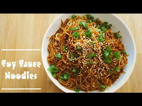 Easy Soy Sauce Noodles