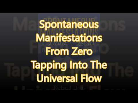 Spontaneous Manifestations From Zero Tapping Into The Universal Flow