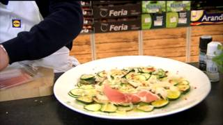 Paul Flynn - RtÉ Today Show - Recipe 15 - Raw Courgette With A Lemon & Parmesan Salad