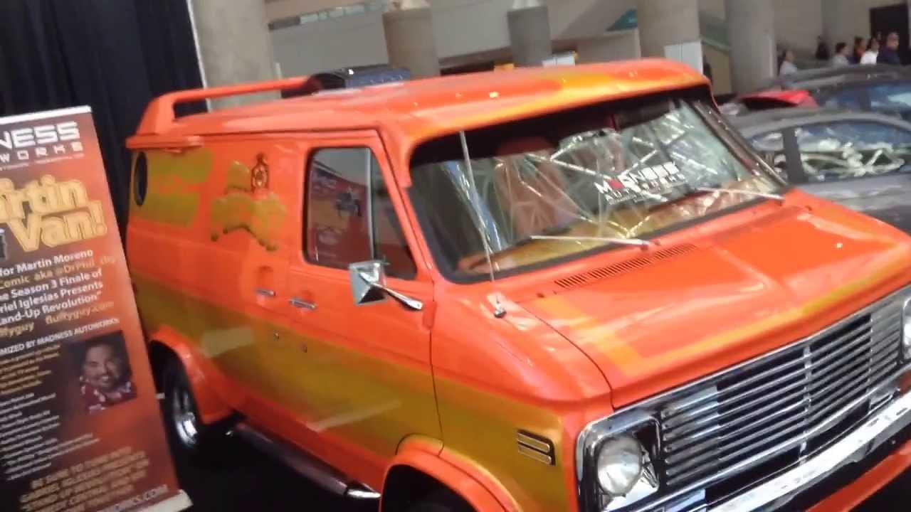 Aztec Warrior Custom Van - YouTube