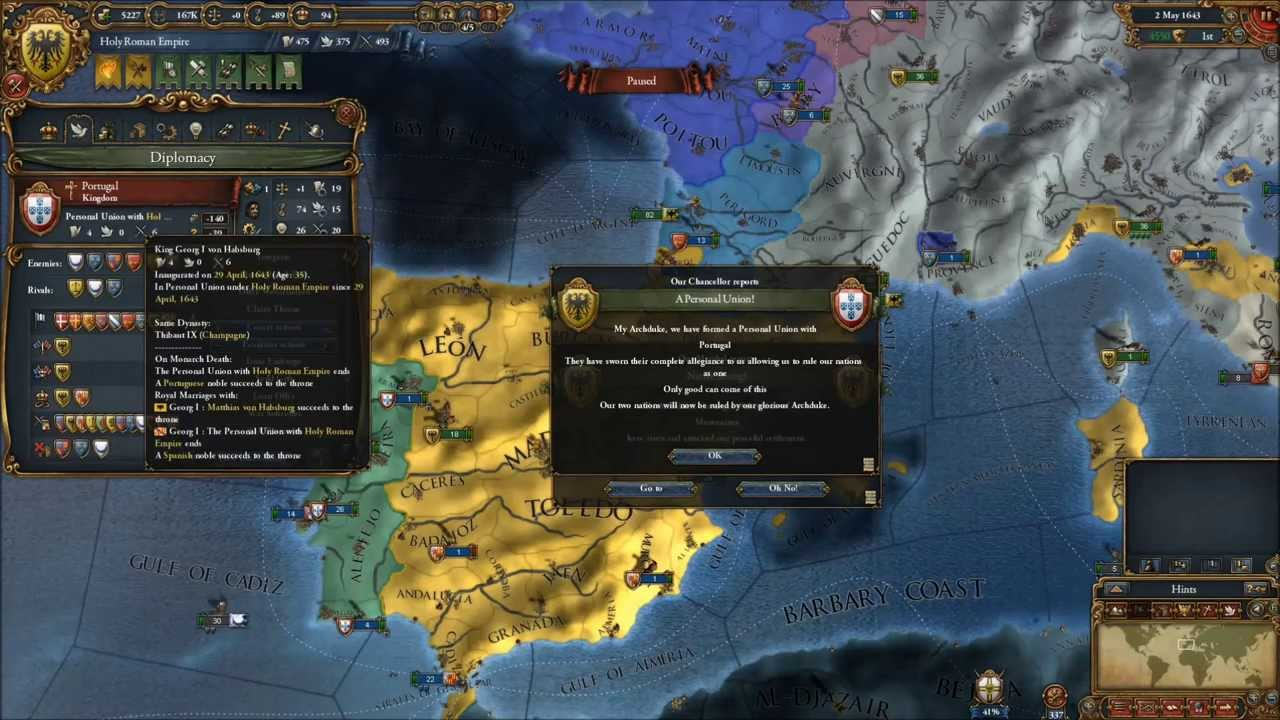 Eu4 Iberian Wedding.Europa Universalis Iv A Lovely Surprise From Portugal