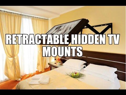Retractable Hidden Tv Mounts Youtube