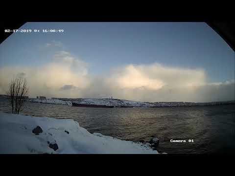 Переменчивая погода в Мурманска