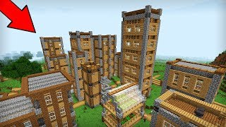 THE RICHEST VILLAGE IN MINECRAFT! WHAT DOES IT HIDE?