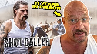 Ex Inmate Reacts - Shot Caller Review - Prison Movie | 130 |