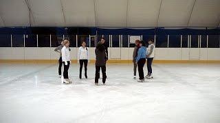 Тренировка по фигурному катанию 20.09.2015г. Каток Юность