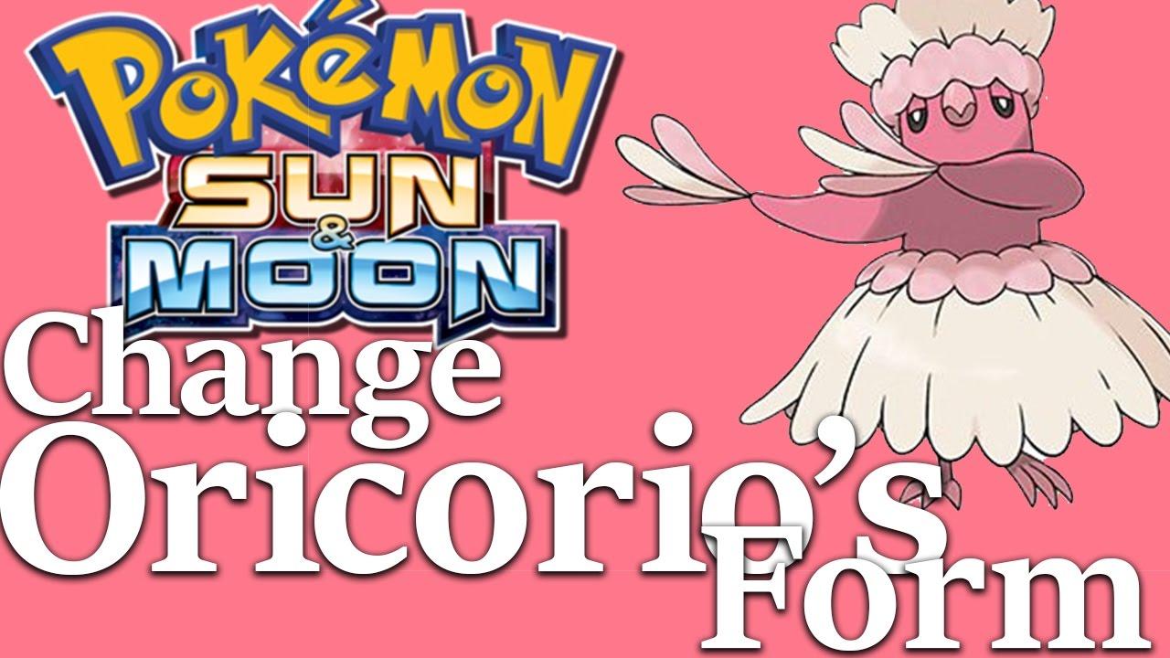 Pokemon Sun & Moon: How to Change Oricorios Form - YouTube