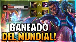 ¡AKSHAN ESTA BANEADO DEL MUNDIAL POR ESTO! | League of Legends
