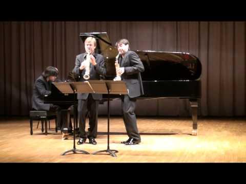 Claude Delangle y Juan Antonio Ramírez - Singelée · Grand Duo Concertant, op.55, I. Risoluto