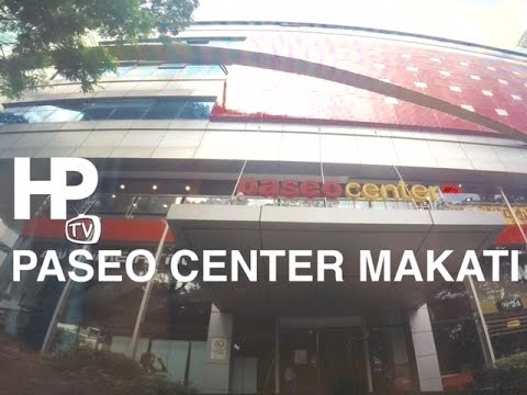 Paseo Center Makati Walking Tour Overview by HourPhilippines.com