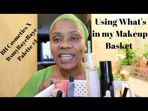 Using What's In My Makeup Basket | BH Cosmetics X ItsmyRayeRaye Palette #1 | HelenasQueendom