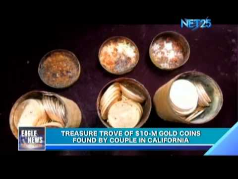 Treasure Trove of $10-M Gold Coins Found by Couple in California