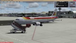 P3Dv3[IVAO]AS A321 Palma de Mallorca ✈ Barcelona