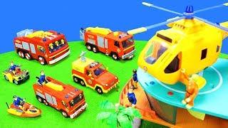 Feuerwehrmann Sam: Spielzeug Feuerwehrautos & Stationen Kollektion | Feuerwehr Kinderfilm