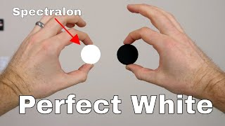 Spectralon—The World's Whitest White Reflects Over 99% of Visible Light vs Black 3.0!