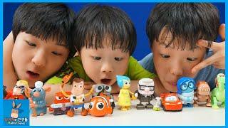 디즈니 픽사 만화 영화 캐릭터 동작을 맞춰라 챌린지 (신기함) ♡ 무빈무빈 태엽 인형 장난감 놀이 Disney Pixar Toy   말이야와친구들 MariAndFriends