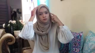 simple shawl tutorial by tirahanees