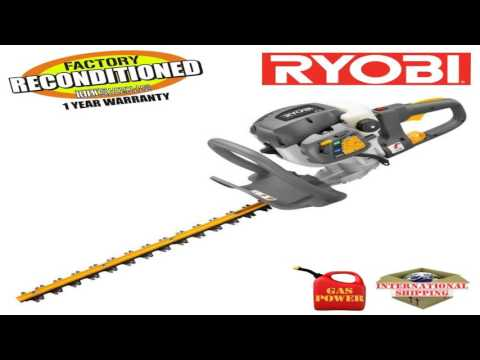 Ryobi ZRRY39500 26cc 22 in Gas Powered Hedge Trimmer