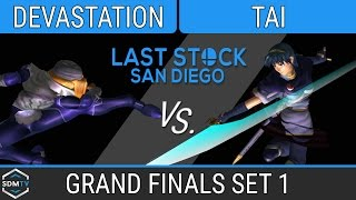 lssd 82 tg devastation sheik vs tai marth ssbm grand finals set 1 smash melee