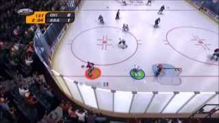 NHL Rivals 2004 Blackhawks vs Ducks Part 1