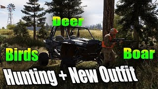 Hunting Far Cry 5 New outfit + off roading