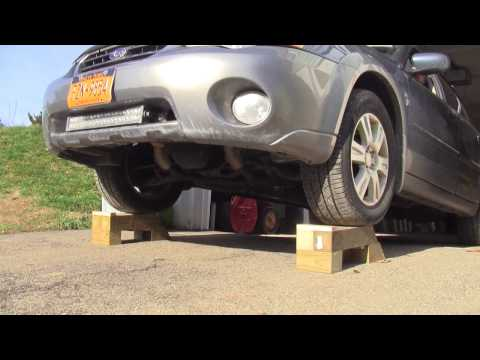 Home Made Vehicle Ramps