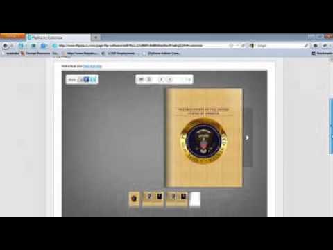 Creating Interactive flip books using Flipsnack